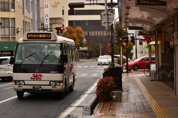 2015年11月8日 千曲バスまちなか循環バス 原町~海野町 118号車