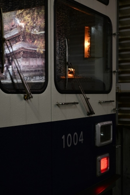2015年11月25日 上田電鉄別所線 上田 1000系1004編成