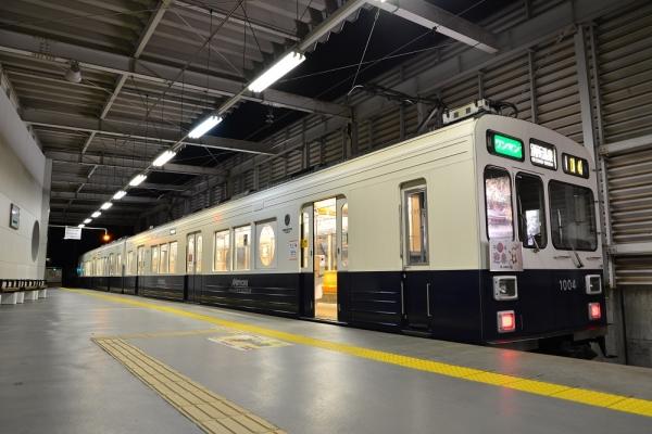 2016年1月1日 上田電鉄別所線 上田 1000系1004編成