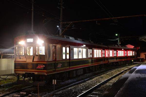 2016年1月1日 上田電鉄別所線 下之郷 6000系6001編成