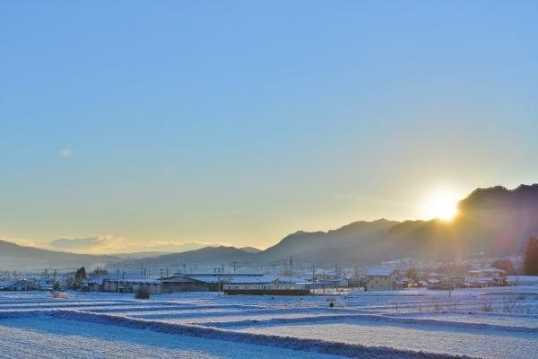 2016年1月1日 上田電鉄別所線 別所温泉~八木沢 1000系1004編成