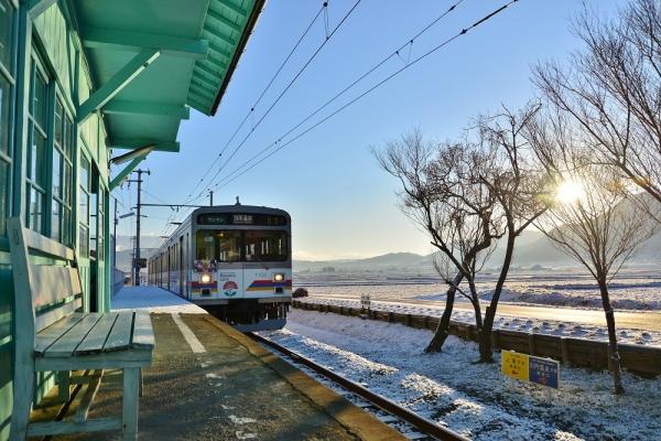 2016年1月1日 上田電鉄別所線 八木沢 1000系1002編成