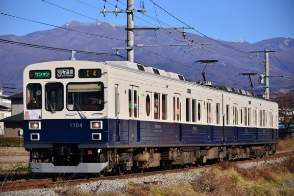 2016年1月1日 上田電鉄別所線 三好町~赤坂上 1000系1004編成