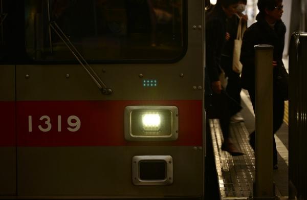 2016年2月29日 東急電鉄池上線 蒲田 1000系1019編成