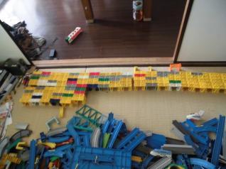 ブロック橋げたがいっぱい