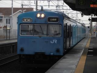 103系ヒネHK605編成
