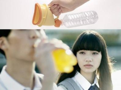 憧れの先輩が飲むジュースは入院中のお父さんのお小水の小便であった