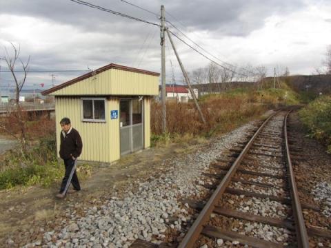 箸別駅待合所