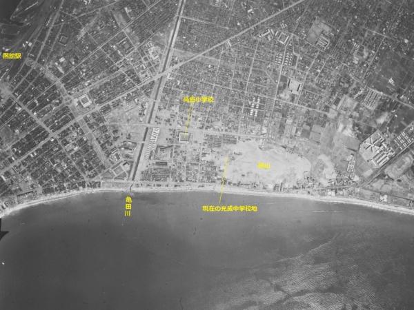 空中写真_函館_1948年