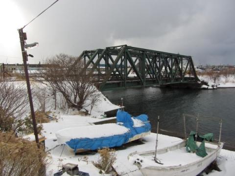 第10留萌川橋梁と福港橋梁