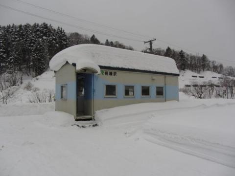 幌糠駅駅舎