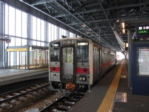 旭川駅6番ホーム