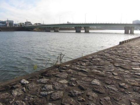 吉田湊跡と豊橋