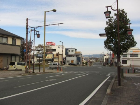 吉田城西惣門跡