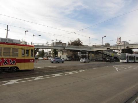 国道1号 東八町駅付近