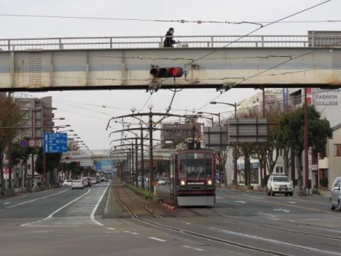 国道1号 東惣門跡付近