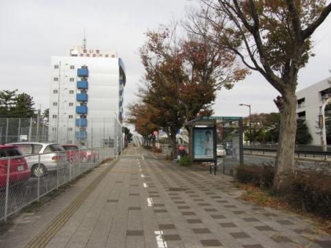 吉田城内天王門跡
