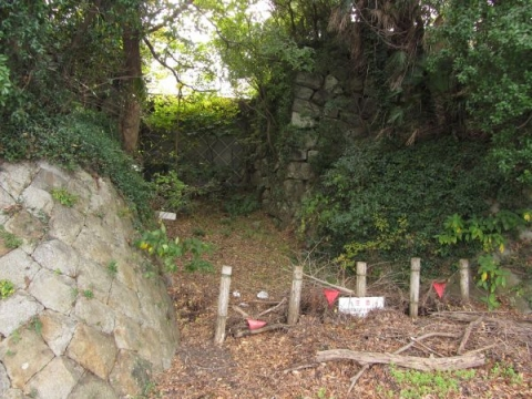 吉田城水門跡