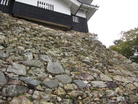 鉄櫓の石垣