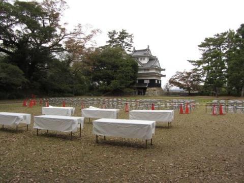 吉田城本丸跡