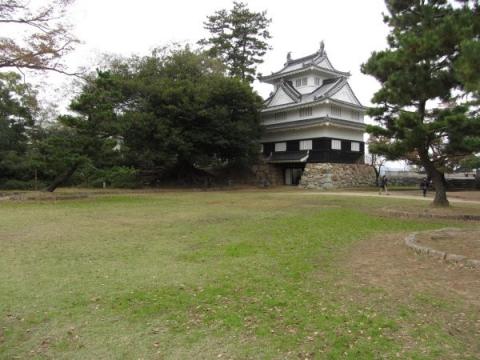 吉田城本丸と鉄櫓