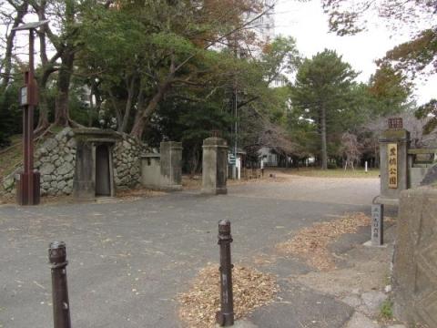 三の丸口門跡