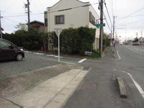 東海道岩屋山古道入口