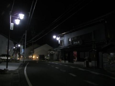 二川宿夜景