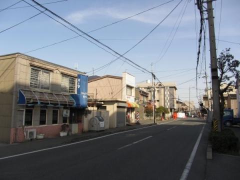 二川加宿大岩町入口