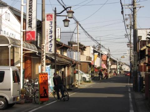 旧東海道 大岩加宿旧中町