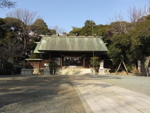 大岩神明宮社殿