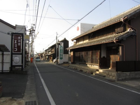 大岩加宿旧中町