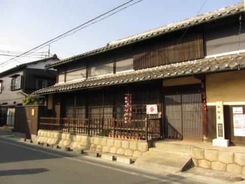 西駒屋(旅籠壺屋・巴屋跡)