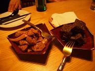 香菇素食烤麩&芝麻豆腐