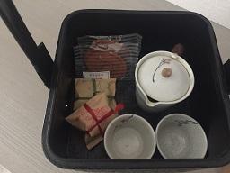 客室内お茶セット