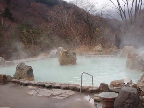 お気に入りの七味温泉