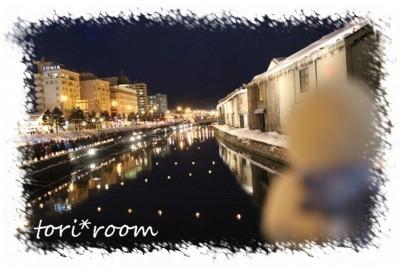 小樽運河*ハノリン