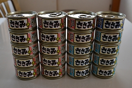 20151101ササミ缶詰20個