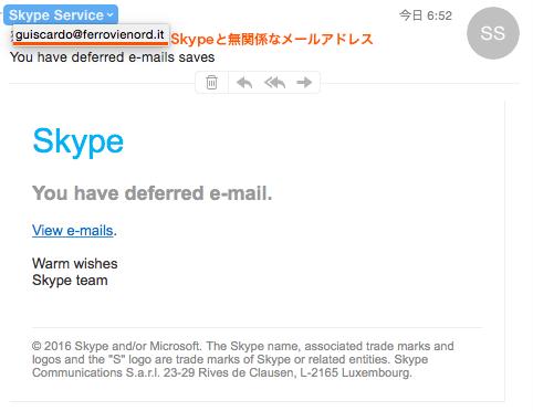 skypeなりすまし