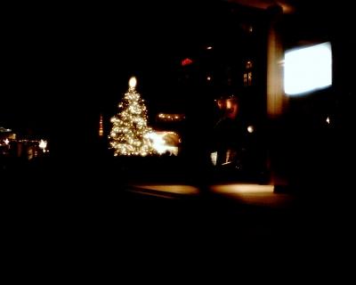 恵比寿ガーデンプレイスのツリーと東京タワー:Entry