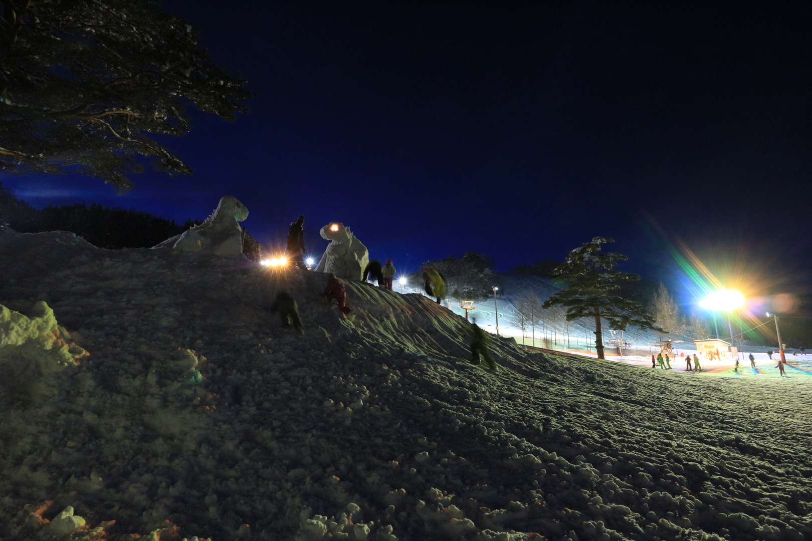 昨年スノーフェスタ写真(田子町