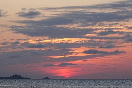 夕陽2月28日日没2分後 DSC04166