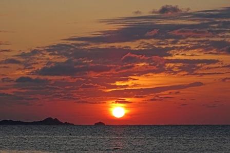 夕陽2月28日日没3分前 DSC04158