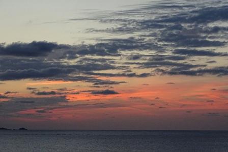 夕陽2月28日日没10分後 DSC04169