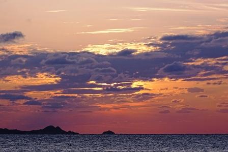 夕陽2月28日日没10分前 DSC04146