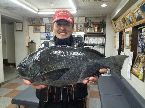 川島さん釣果