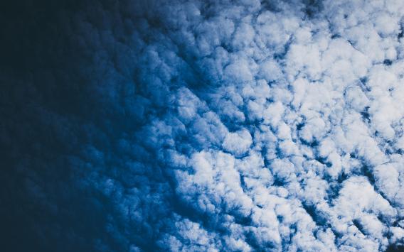 SKYFALL Ubuntu 壁紙 雲海 暗い