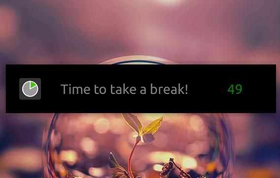 Take A Break Ubuntu 休憩 タイマー 休憩時間の通知
