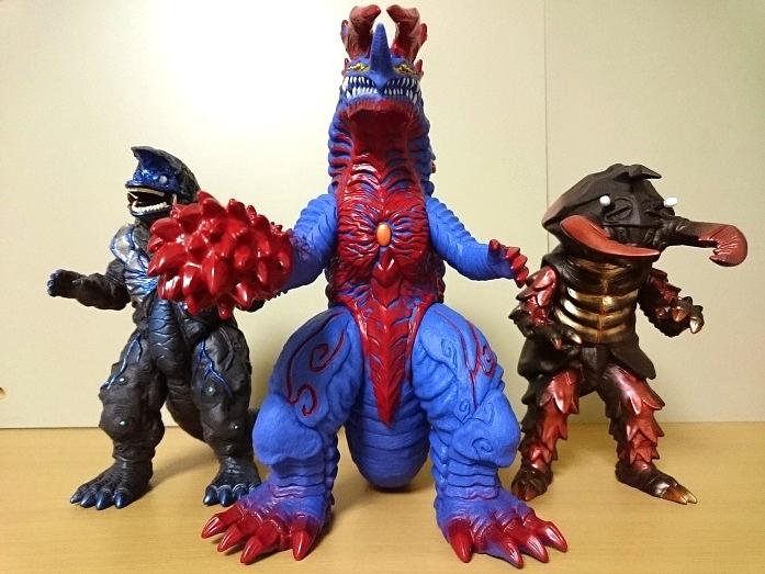 ウルトラ怪獣DX ザイゴーグ、ゴーグアントラー、ゴーグファイヤーゴルザ