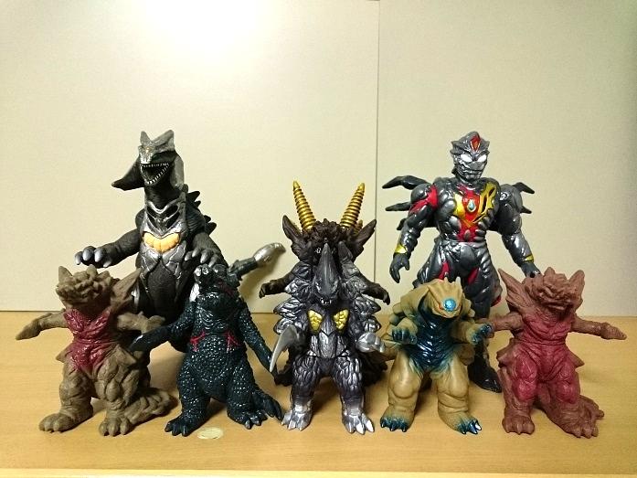 ウルトラ怪獣 ソフビ スフィア合成獣16